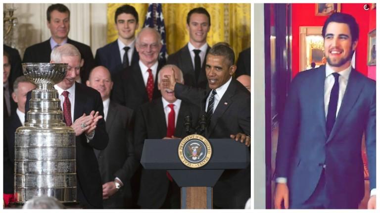 "Erik Gustafsson om mötet med Obama: ""Det var mäktigt!"""