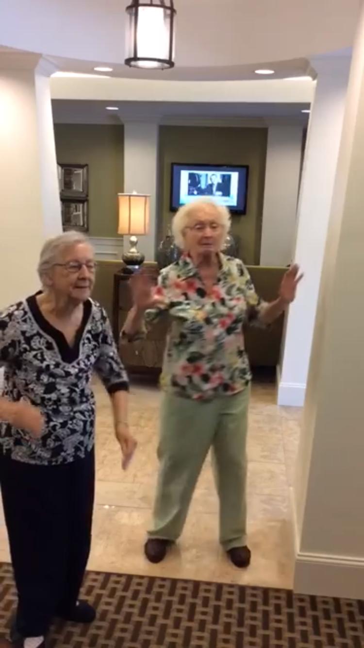 Världens sötaste tanter whipar och naear